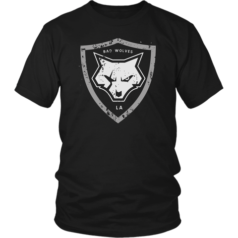 Distressed Shield Men's Tee