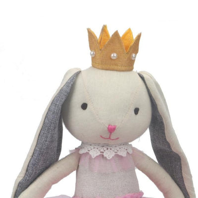 Princess Penelope Rabbit Plush Doll 22""