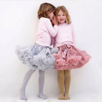 Girls Layered Fluffy Dance Tutu Sz 3T-8