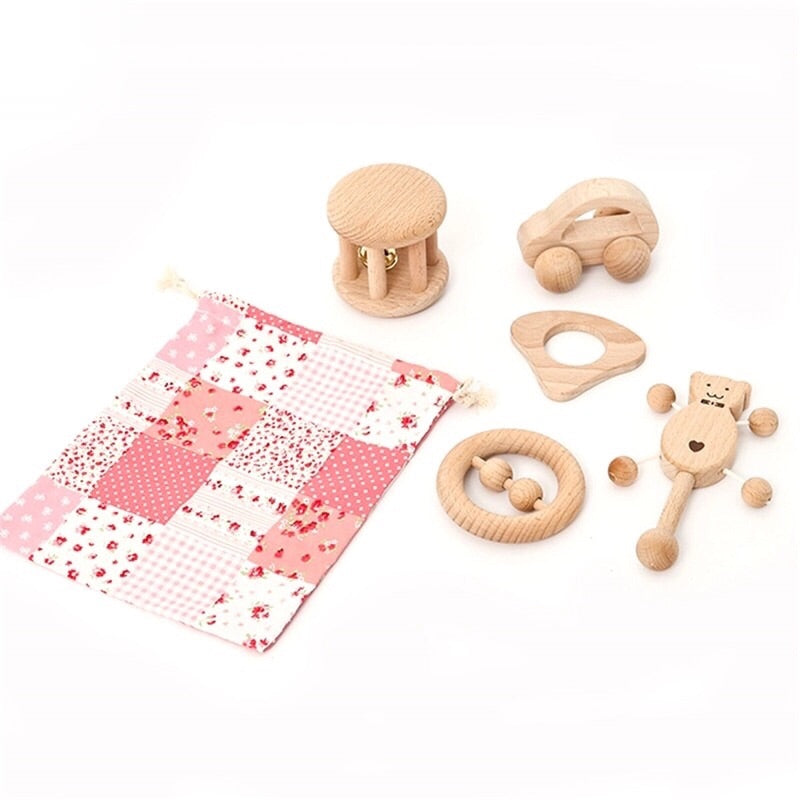 1 Pc Wooden Raddler/Toys