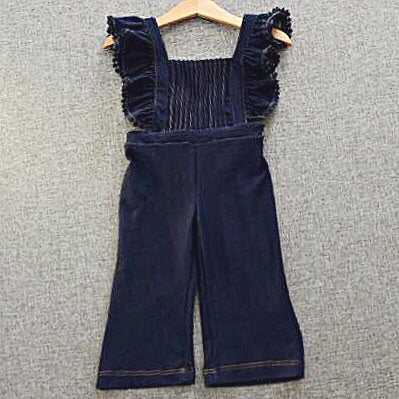 Desiree Pleated Overalls 3T - 8Yr