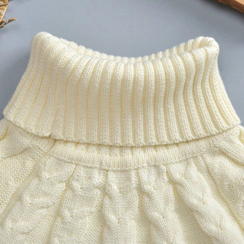 Cable Knit Sweater Cape Sweater 12M-6T