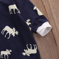 Don't Moose With Me Deer Style Romper