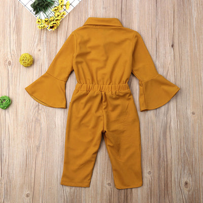 Bell Sleeve Jumpsuit