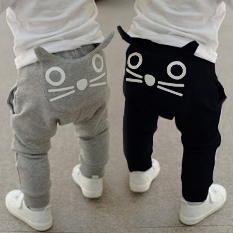 Cat Face Pants