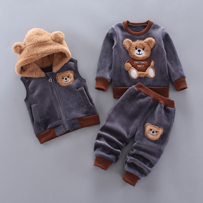 Kids Cozy Bear Set