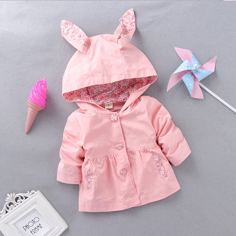 Floppy Ears Bunny Jacket 18M-4T