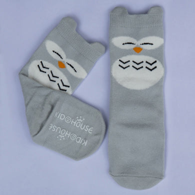Anti-Slip Super Cute Knee High Socks. Fox, Bear, Owl, Kitty, Bunny