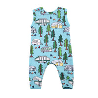My Little Camper Summer Romper 6-24M