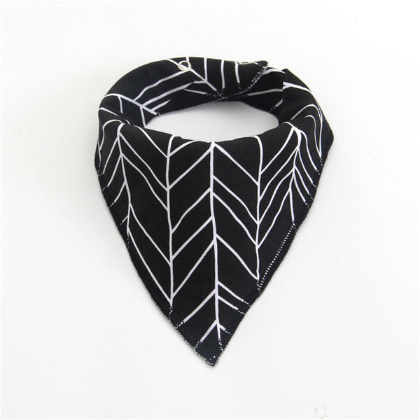 1 Pc Adjustable Cotton Bandanna Bib - 20 Styles
