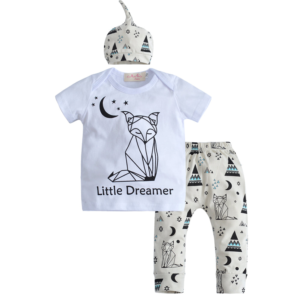 3 Pcs Little Dreamer Set 3-24M