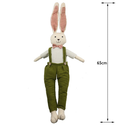 Mr. Robin Rabbit Plush Doll 25.5""