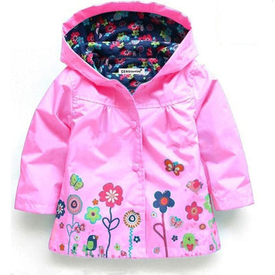 In-Bloom Raincoat 2T-6