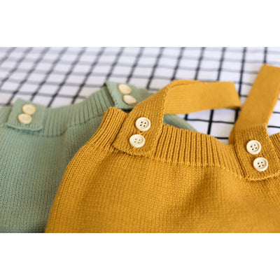 Jules Knit Overalls 6-24M