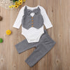 2 Pcs Hudson Formal Romper + Pants Set