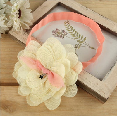 Headwrap Lace Flower Headband