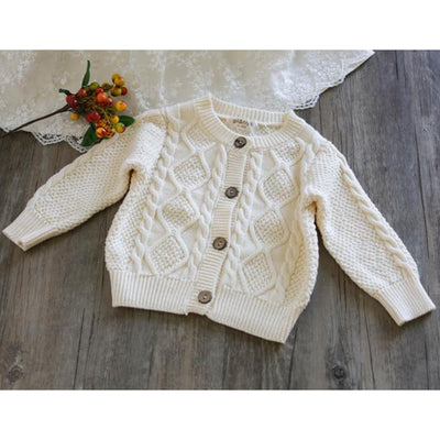 2 Pcs Aidyn Cable-Knit Set 3-24M