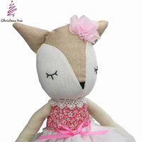 Dancing Daphne Ballerina Plush Doll 20""