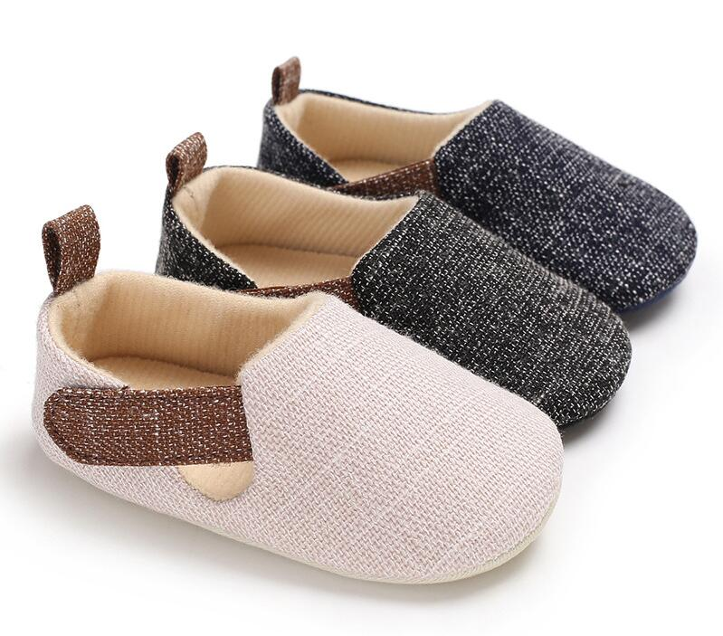 Baby denim non-slip shoes