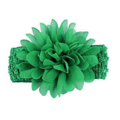 Flower Style Knitting Headband