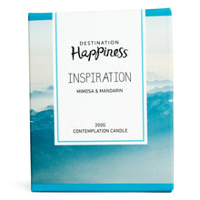"Candle - ""Inspiration"" - Destination Happiness"