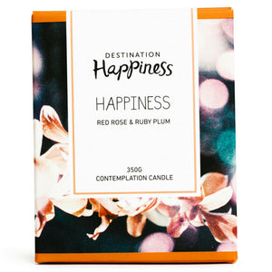 "Candle - ""Happiness"" - Destination Happiness"