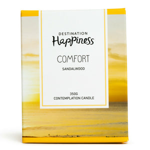 "Candle - ""Comfort"" - Destination Happiness"