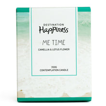 "Candle - ""Me Time"" - Destination Happiness"