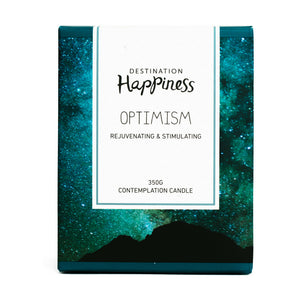 Candle - Optimism - Destination Happiness