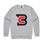 CONNECT CREWNECK | Grey Marle | PRESALE