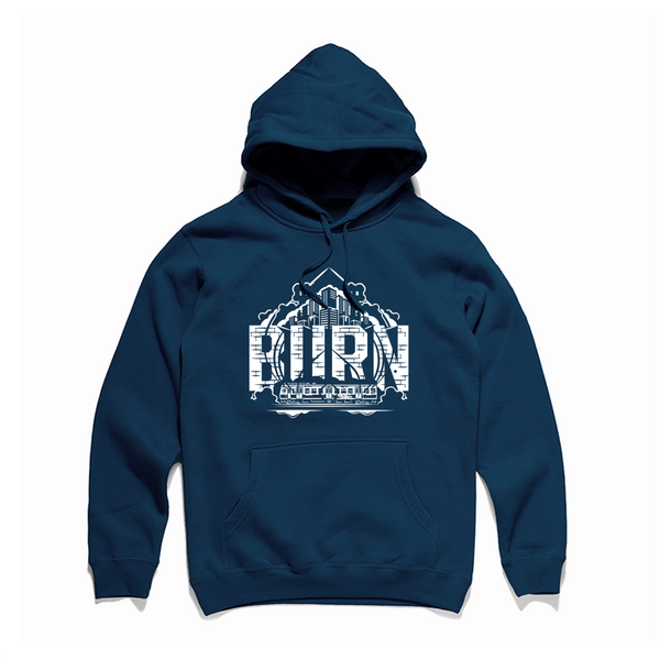LOCKED HOOD | Navy | PRE-SALE