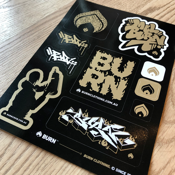 PREMIUM STICKER SHEET