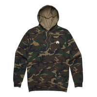 EMBROIDERED HOOD | Camo | L & XL Only