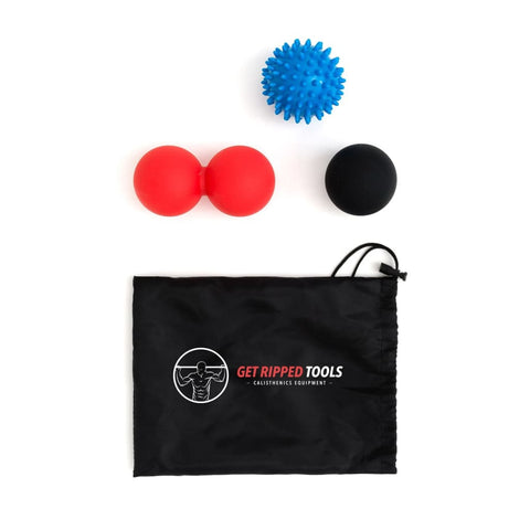 Get Ripped Tools - Trigger Point Massage Ball Set