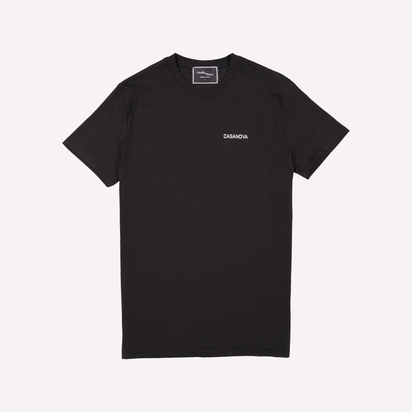 casanova stamp black t-shirt