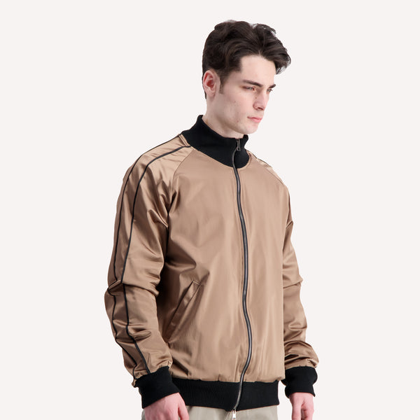 acetate gold track jacket