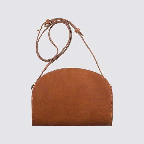 Half Moon Bag Nut Brown