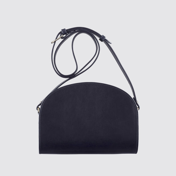 Half Moon Bag Dark Navy Blue
