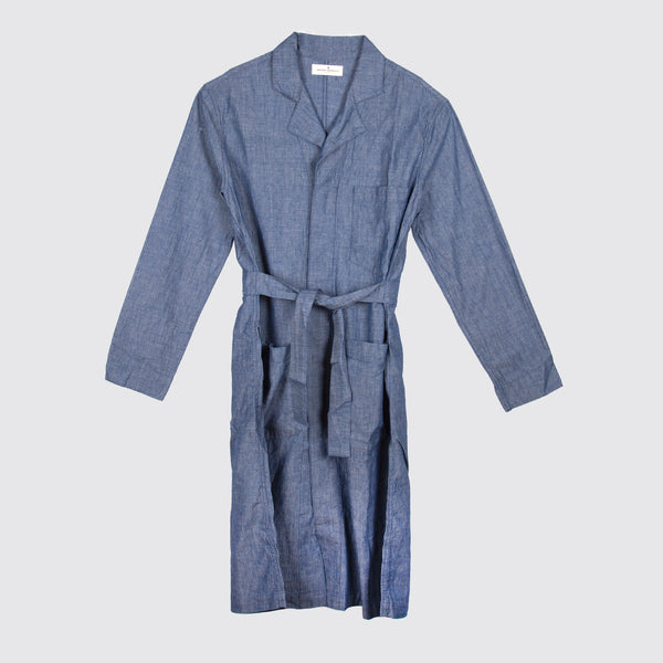 Anni Painter's Coat Chambray