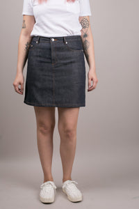 Standard Skirt Raw Indigo
