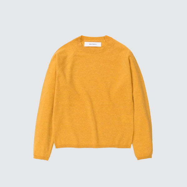 Evana Summer Wool Sweater Corn Yellow