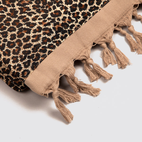 Leopard Terry Towel