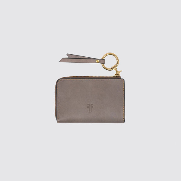 Ilana Harness Small Zip Wallet Grey--LAST ONE LEFT!