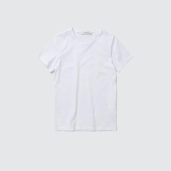 Gro Standard Cotton Tee White