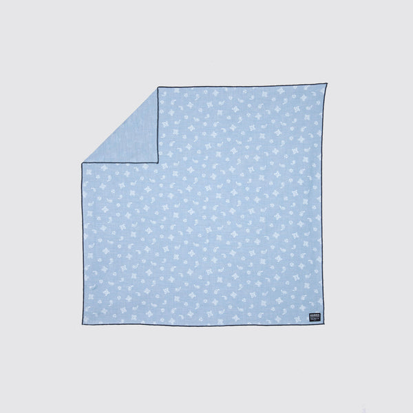 Hanks Kerchiefs Elizabeth Baby Blue