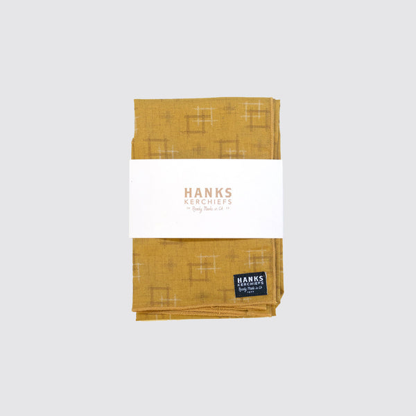Hanks Kerchiefs Susan Gold