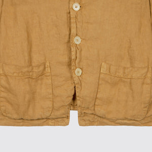 Heavy Weight Linen Jacket Topaz