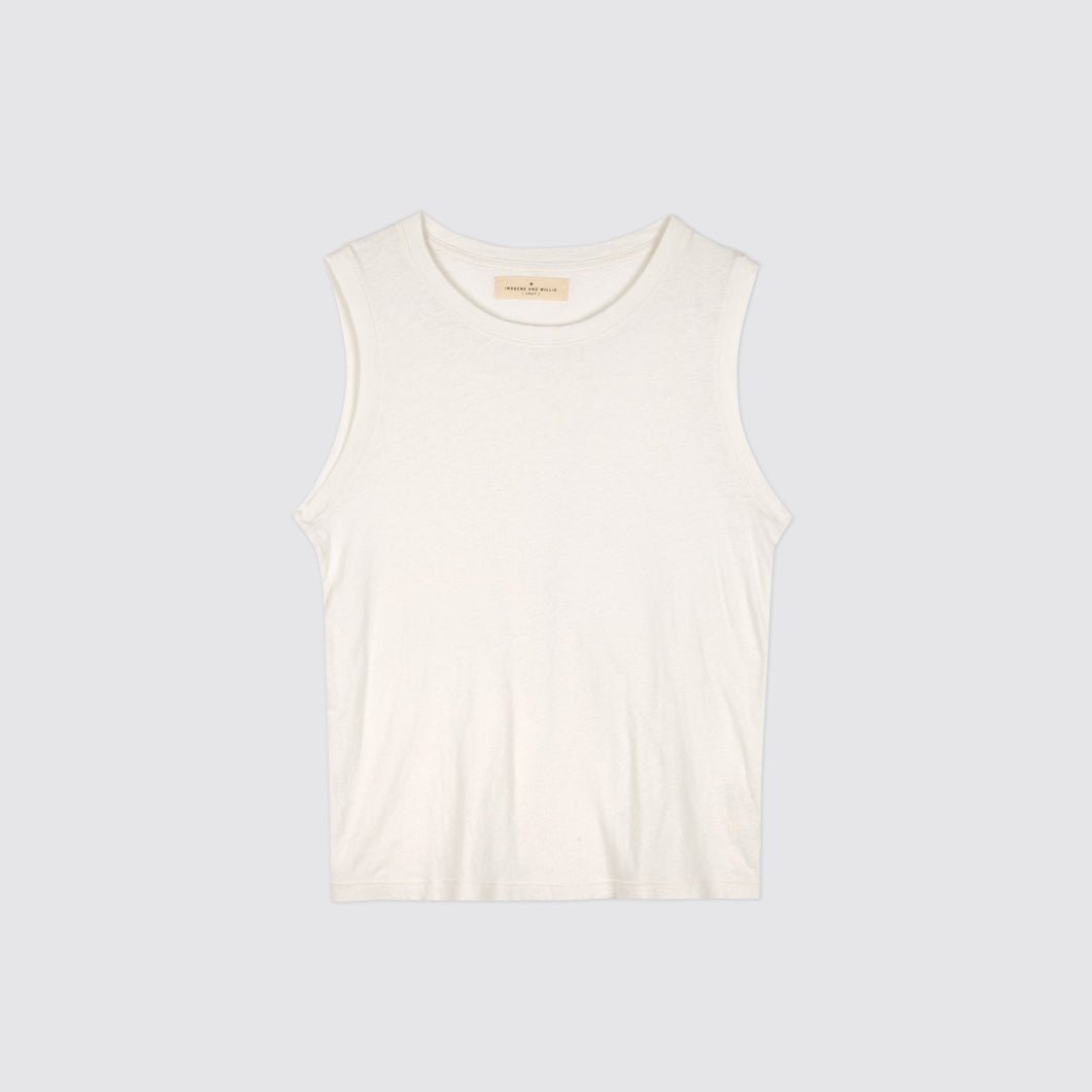 Classic Muscle Tee White
