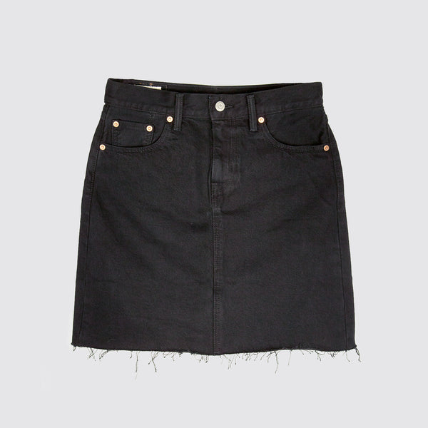 The Everyday Skirt Charcoal Black