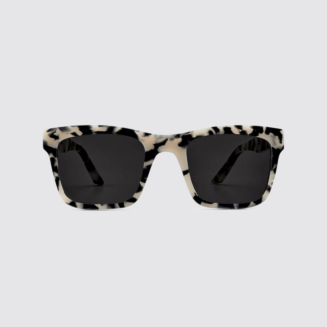 Morningside Sunglasses White Tortoise Horn